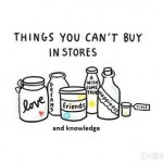 Things that you can't buy
